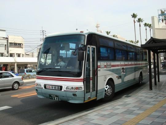 宇和島自動車 松山線車両